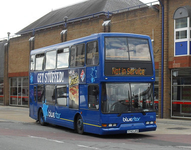 1743 - T743JPO - Eastleigh (bus station) - 29.6.11