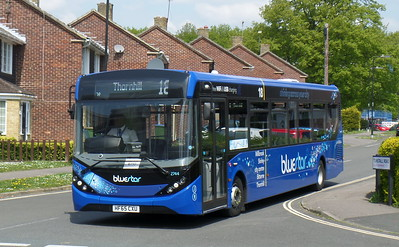 2744 - HF65CXU - Thornhill (Tunstall Road)