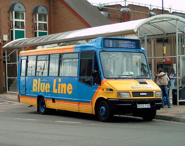 259 - N259FOR - Eastleigh (bus station) - 16.4.05