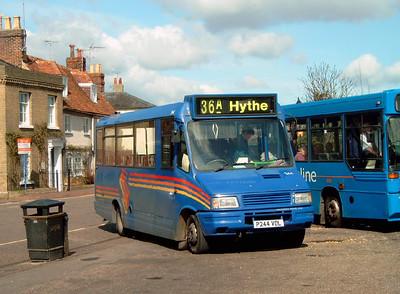 244 - P244VDL - Hythe (Ferry Yard) - 12.4.06