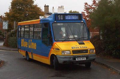 246 - M246BPO - Hamble - October 2003