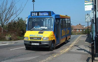 257 - N257ECR - Hamble (Square) - 30.7.03