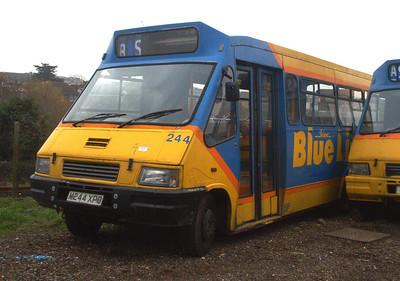244 - N242PDL - Ryde depot - 15.2.04
