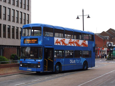 818 - N539LHG - Eastleigh (bus station) - 27.5.08