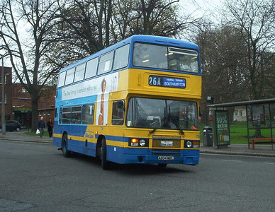 704 - A204MEL - Southampton (city centre) - 3.4.04