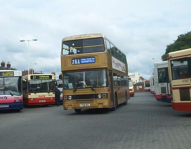 706 - F706RDL - Fareham (bus station) - 9.7.04