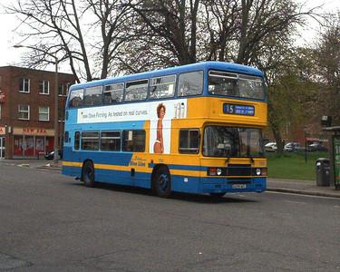 705 - A205MEL - Southampton (city centre) - 3.4.04