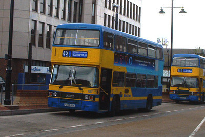 707 - F707RDL - Eastleigh (bus station) - May 03