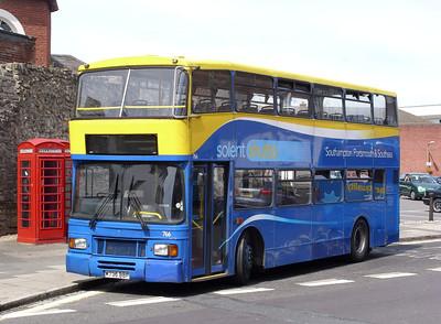 766 - M736BBP - Southampton (city centre) - 30.7.08