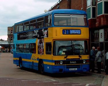 701 - A201MEL - Eastleigh (bus station) - 16.4.05
