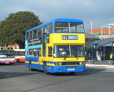 708 - F708SDL - Fareham (bus station) - 14.02.04