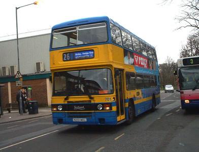 701 - A201MEL - Southampton (city centre) - 3.4.04