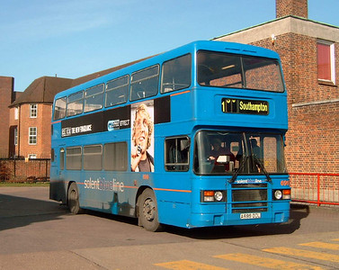 699 - A699DDL - Winchester (bus station) - 25.2.06