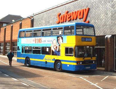 697 - A697DDL - Eastleigh (bus station) - Apr 2003