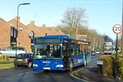 2401 - HF55JYX - Thornhill (Tunstall Road) - 26.1.13