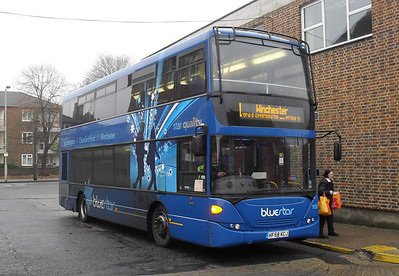 1130 - HF58KCJ - Winchester (bus station rear) - 28.12.10