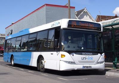 2005 - HF58HTL - Portswood (St Denys Rd) - 29.4.09