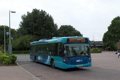 2012 - HF61FWM - Highfield (bus interchange) - 5.10.13