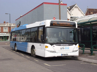 2007 - HF58KTO - Portswood (St Denys Rd) - 15.4.09