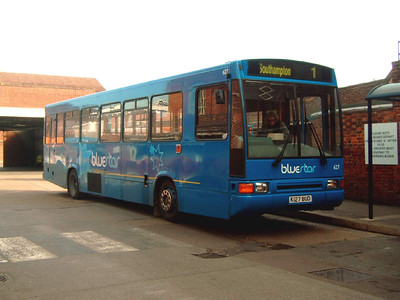 627 - K127BUD - Winchester (bus station) - 25.2.06
