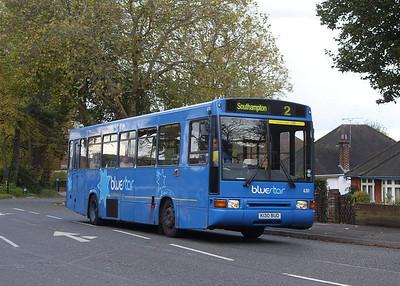 630 - K130BUD - Swaythling (Stoneham Lane) -28.10.08