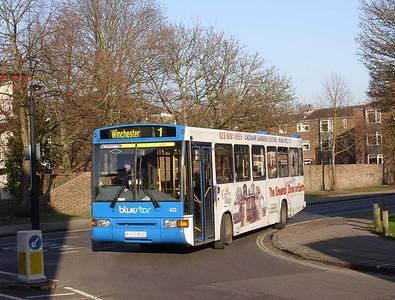 622 - K122BUD - Winchester (Friarsgate) - 12.2.08