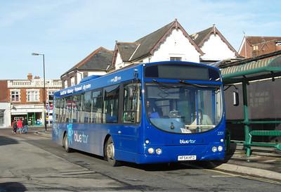 2201 - HF54HFO - Portswood (St Denys Road) - 26.1.13
