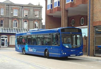 2228 - HF54HHC - Eastleigh (bus station) - 7.8.13