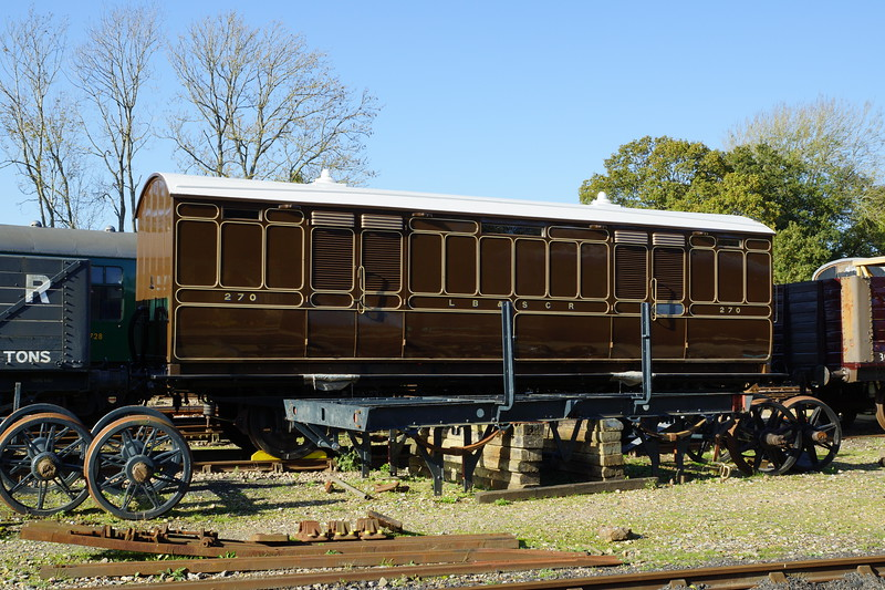 LBSCR 270 Perishable traffic van 27,10,2014