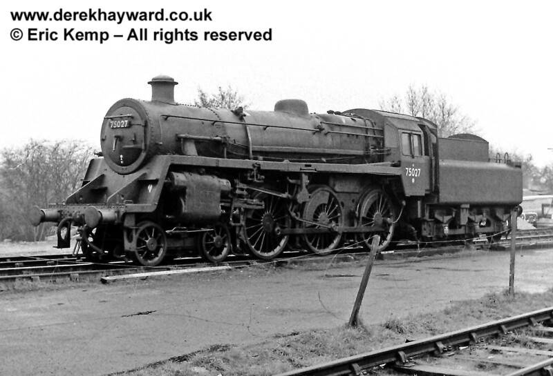 Standard 4 75027 at Sheffield Park.  16.03.1969