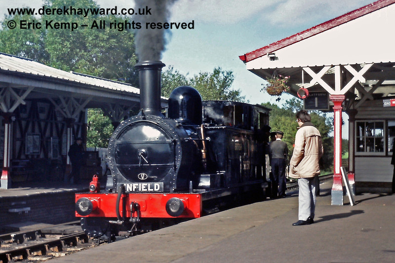 The North London Tank at Sheffield Park on Sunday 21.10.1984