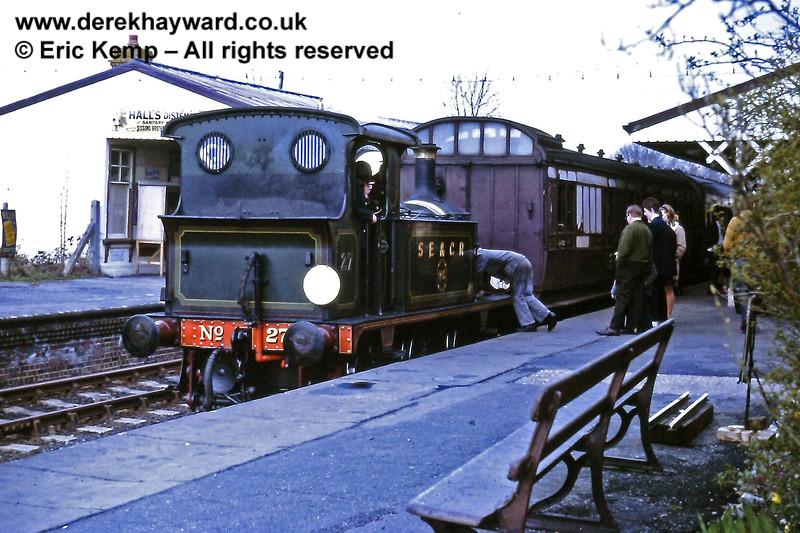 27 at Sheffield Park on Sunday 28.03.1971