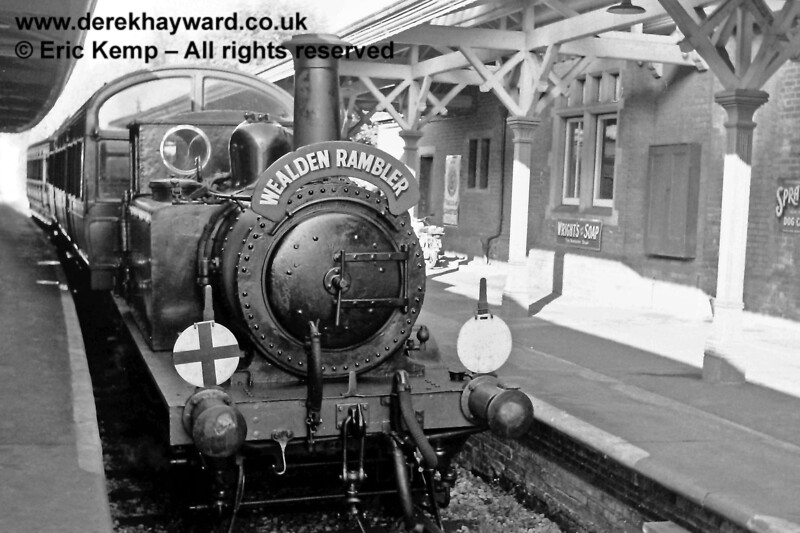 72 at Horsted Keynes with the Wealden Rambler.  29.09.1968