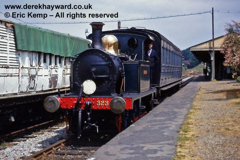 323 Bluebell at Horsted Keynes.  14.06.1970