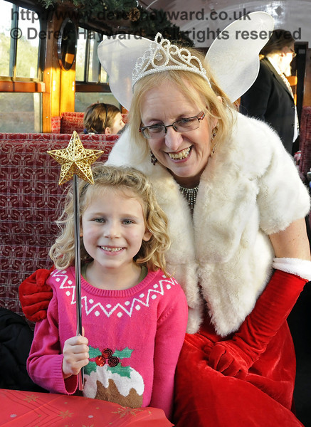 Fairy Godmother event, Bluebell Railway, 29.12.2013  9972