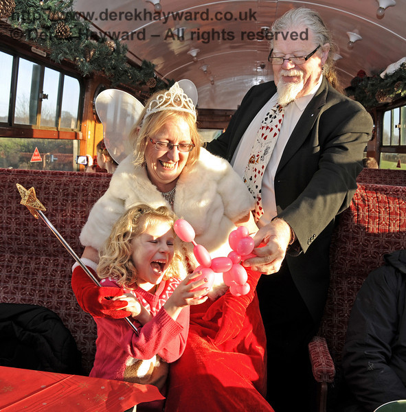 Fairy Godmother event, Bluebell Railway, 29.12.2013  9978
