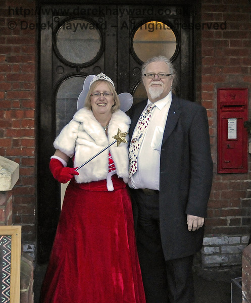 Fairy Godmother event, Bluebell Railway, 29.12.2013  10008