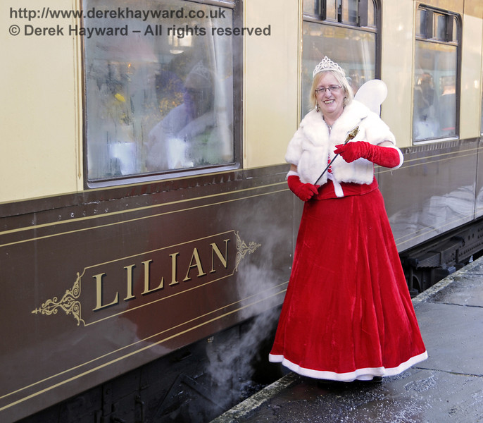 Fairy Godmother event, Bluebell Railway, 29.12.2013  9989