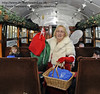 Fairy Godmother event, Bluebell Railway, 29.12.2013  9992