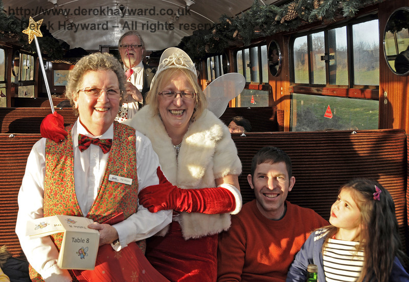 Fairy Godmother event, Bluebell Railway, 29.12.2013  9982