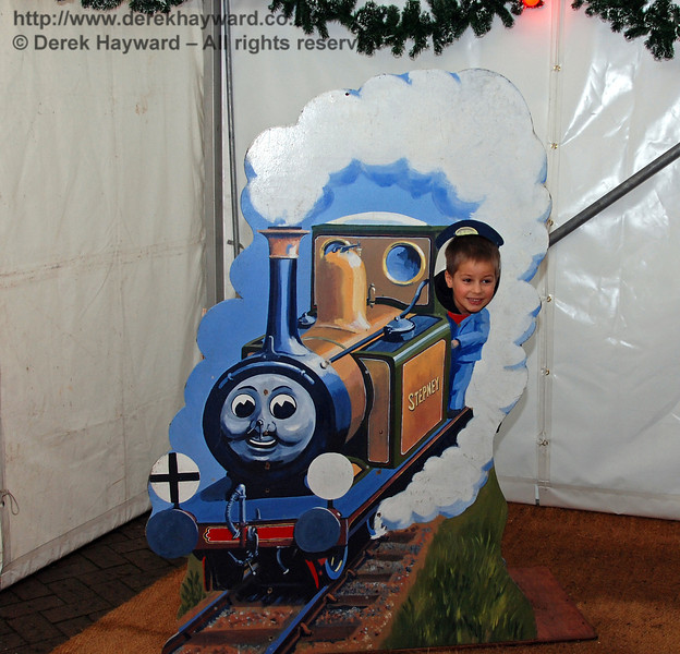 A rather small version of Stepney was available for younger visitors. 06.12.2008