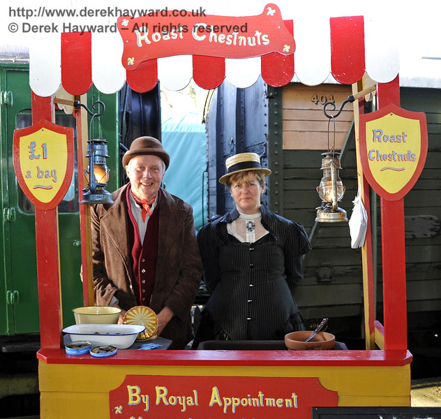 Victorian Christmas at Horsted Keynes.  22.12.2011  3357