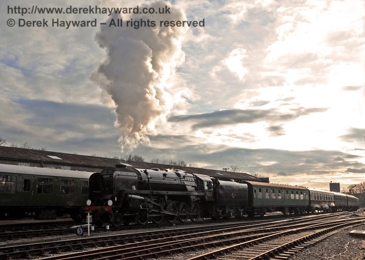 Bluebell Railway Santa Celebrations at Horsted Keynes. 08.12.2012  5915