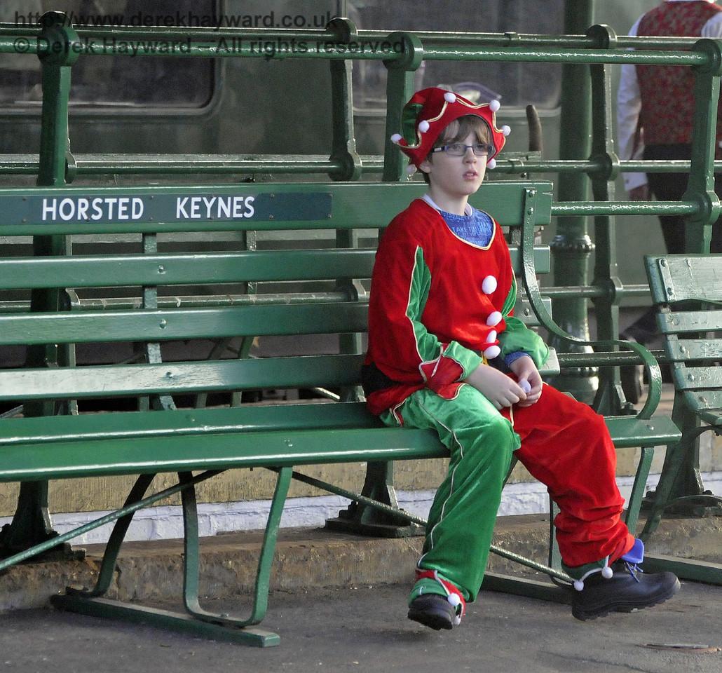 Bluebell Railway Santa Celebrations at Horsted Keynes. 08.12.2012  8405