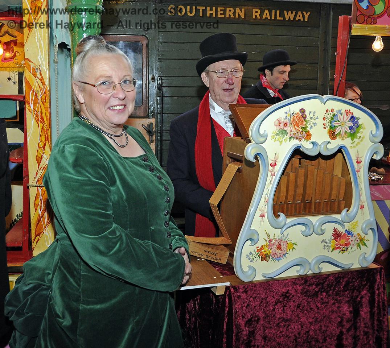 Bluebell Railway Santa Celebrations at Horsted Keynes. 08.12.2012  6003