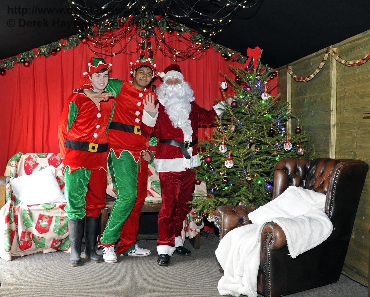 Bluebell Railway Santa Celebrations at Horsted Keynes. 08.12.2012  5904