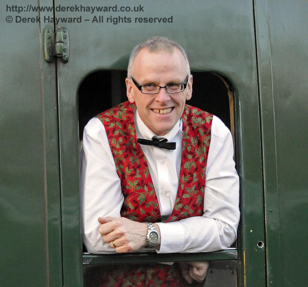 Bluebell Railway Santa Celebrations at Horsted Keynes. 08.12.2012  8425