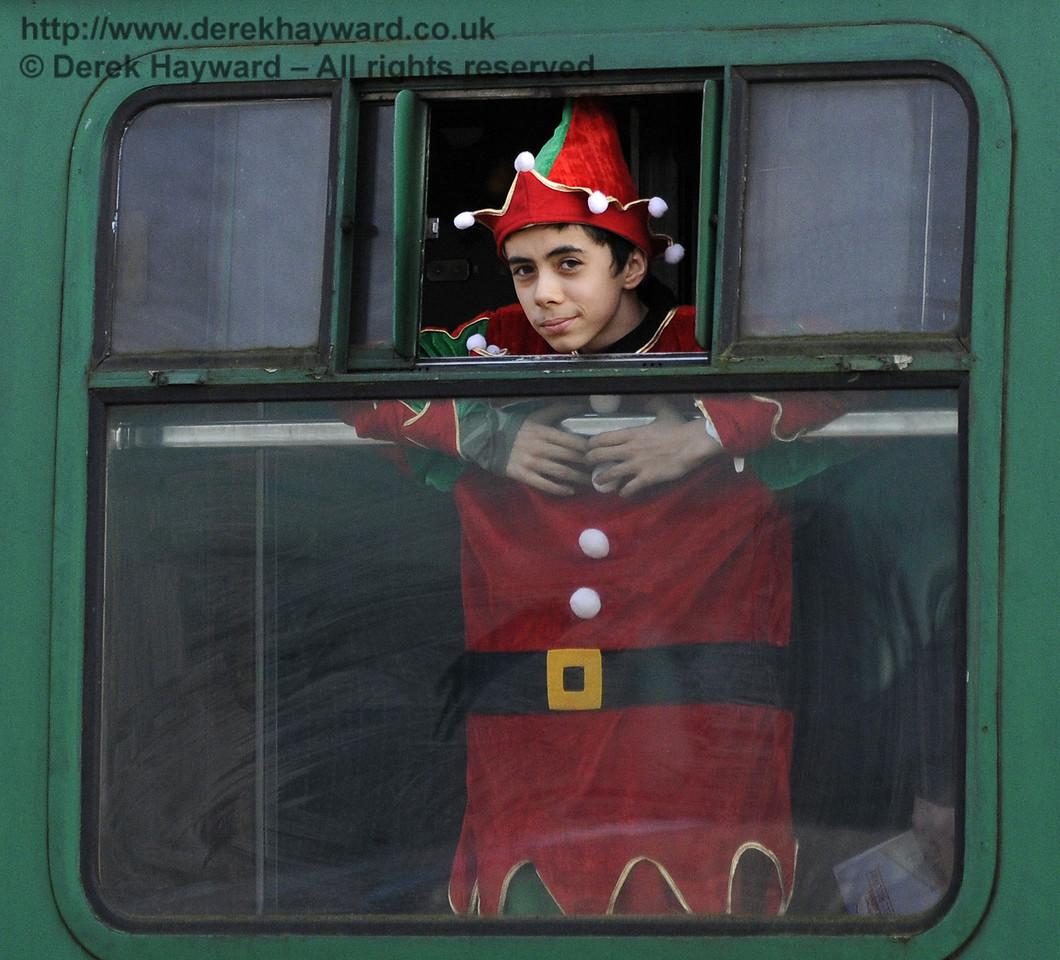 Bluebell Railway Santa Celebrations at Horsted Keynes. 08.12.2012  8395