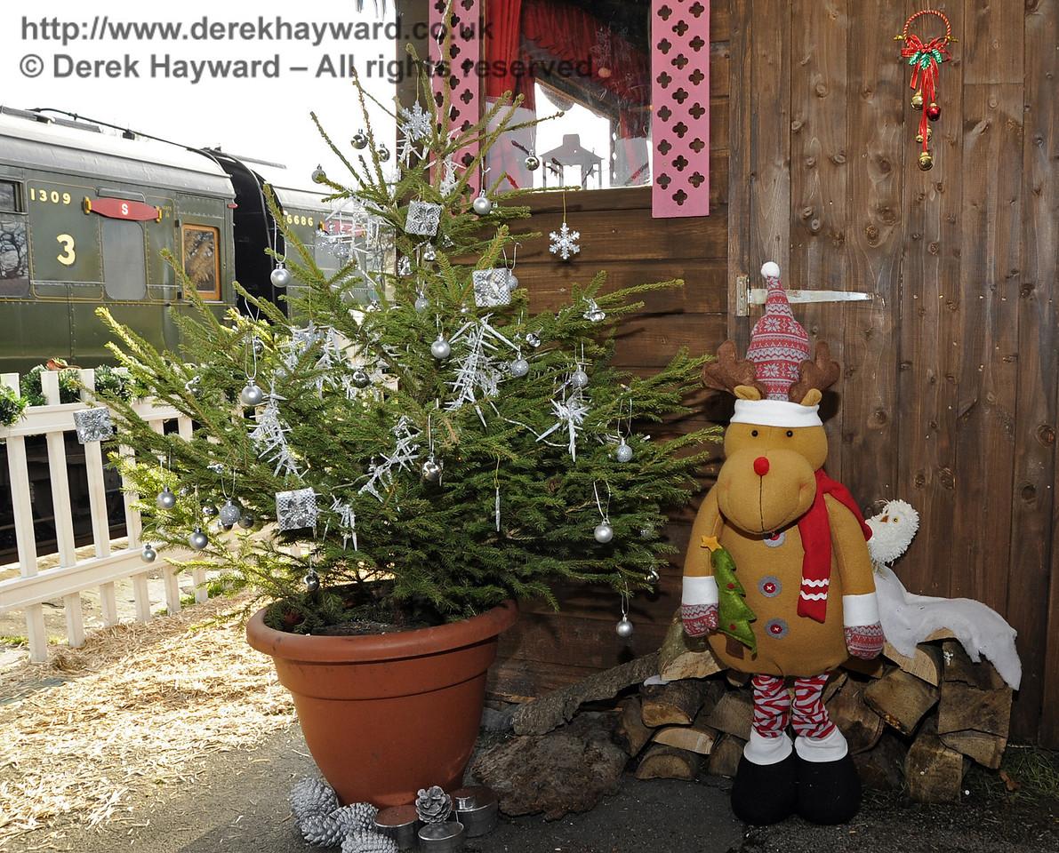 Bluebell Railway Santa Celebrations at Horsted Keynes. 08.12.2012  5908