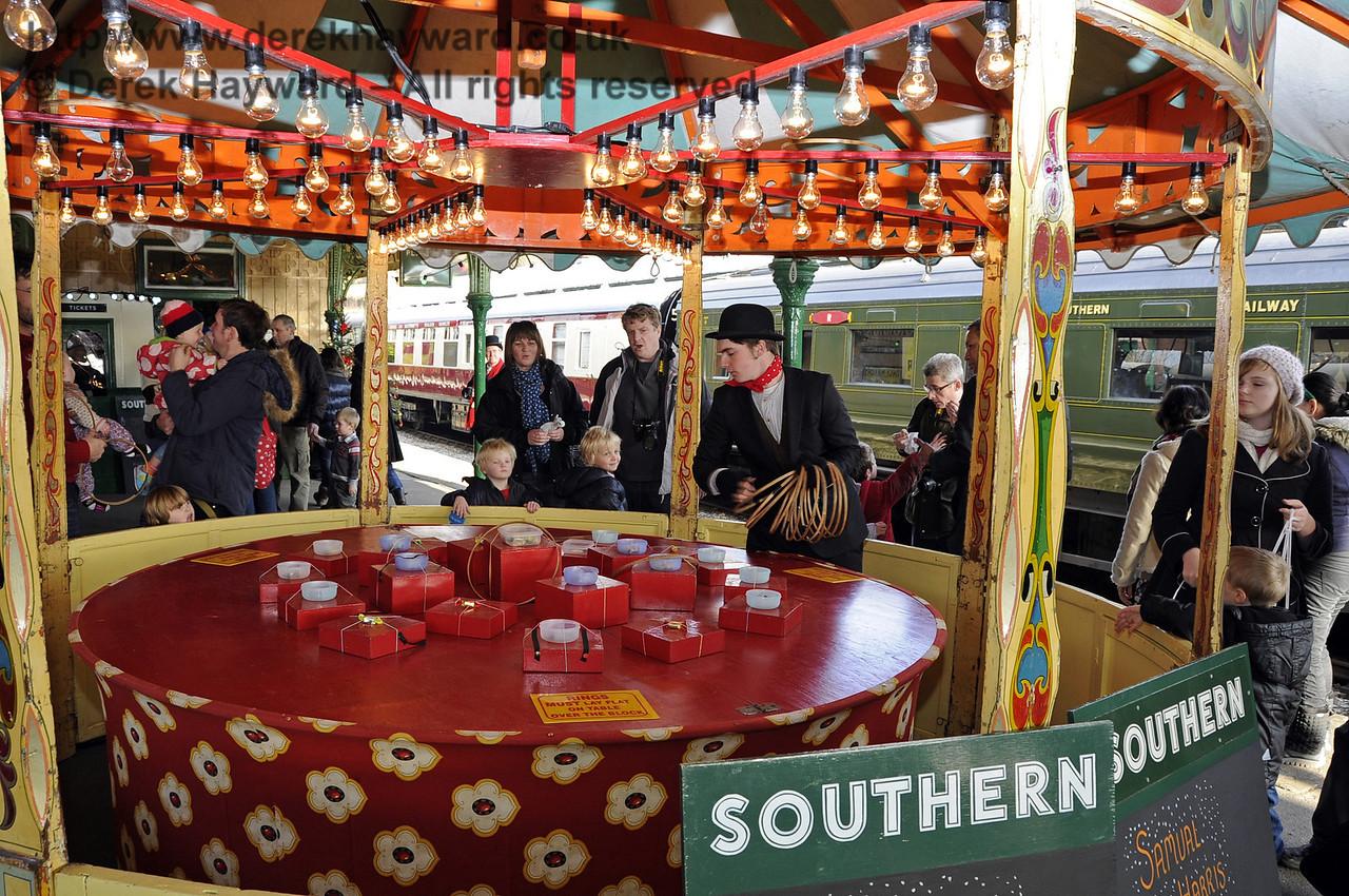 Bluebell Railway Santa Celebrations at Horsted Keynes. 08.12.2012  5890